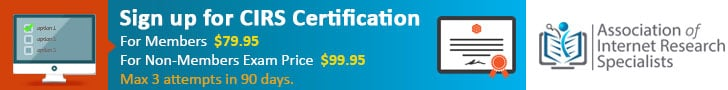 Buy CIRS Certification Exam