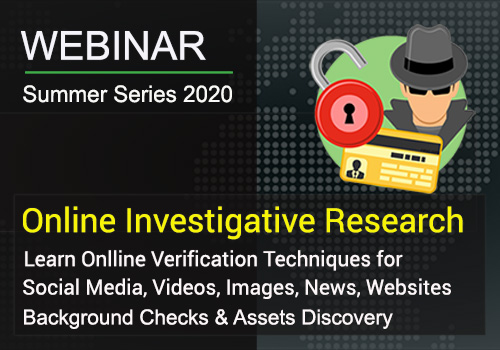 Online Investigative Research Training