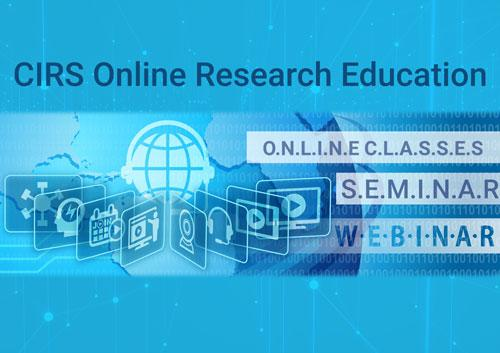 CIRS Webinar Training Online Education