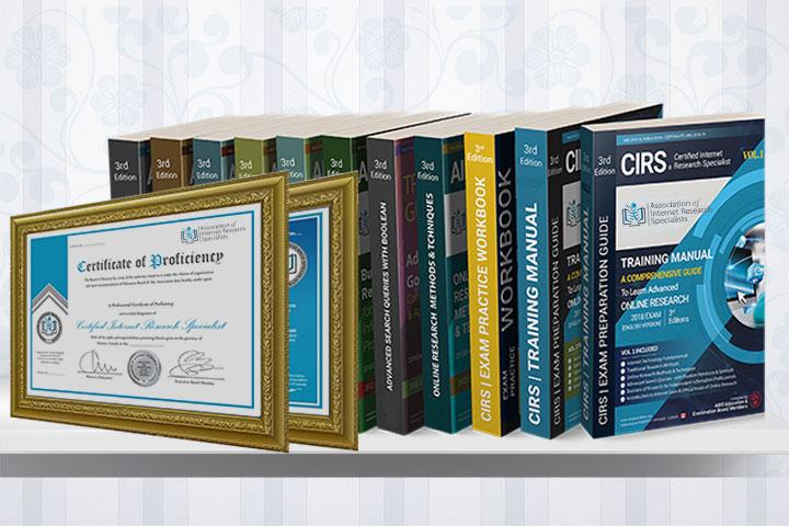 CIRS certification online research courses