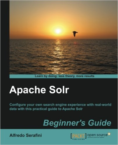 Cover of Apache Solr Beginner's Guide