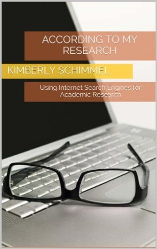 Cover of According to My Research: Using Internet Search Engines for Academic Research Kindle Edition