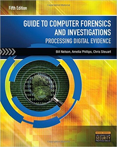 Cover of Guide to Computer Forensics and Investigations (with DVD) 5th Edition