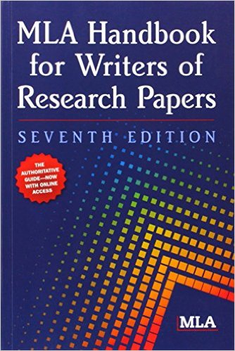 Cover of MLA Handbook for Writers of Research Papers, 7th Edition 7th Edition