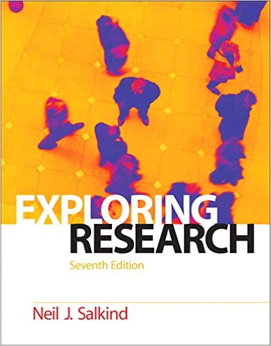 Cover of Exploring Research (7th Edition) 7th Edition