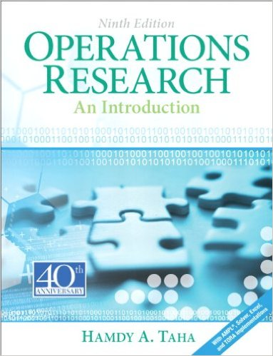 Cover of Operations Research: An Introduction (9th Edition) 9th Edition (2)