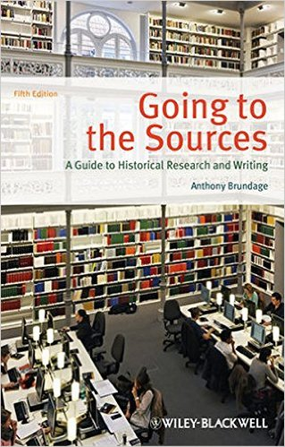 Cover of Going to the Sources: A Guide to Historical Research and Writing 5th Edition