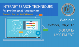 Internet Search Techniques for Professional Research