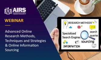 Advanced Online Research Methods, Techniques, Strategies and Online Information Sourcing