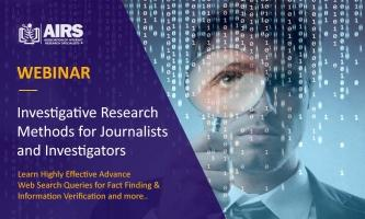 Online Investigative Research Methods & Techniques for Journalists & Investigators