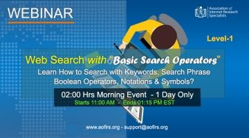 Web Search with Basic Search Operators