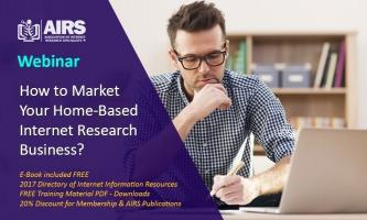 How to Market Your Home-Based Internet Research Business?