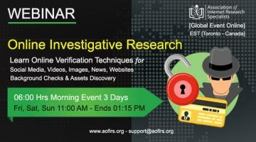 Online Investigative Research