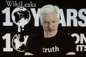 Julian Assange warns WikiLeaks will expose Google as he promised to release significant disclosures on company