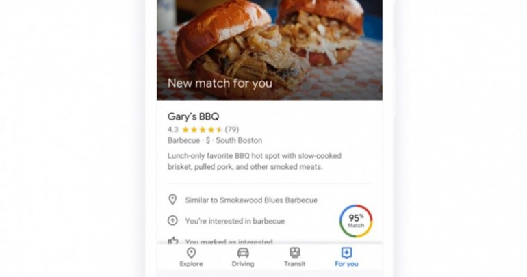 Google Maps Makes it Easier to Find Restaurants and Bars